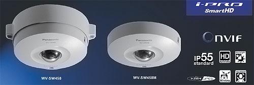 IP-камеры panasonic WV-SW458 и WV-SW458M