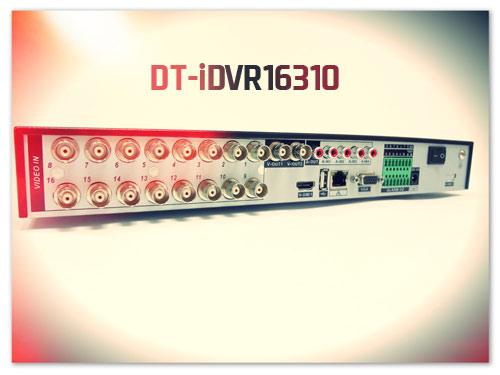 Задняя панель DT-iDVR16310
