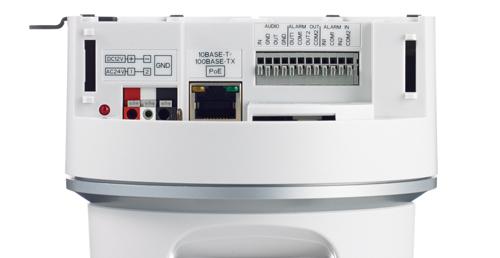 Камера JVC VN-H557U вид сзади