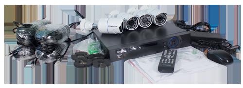 Tantos Simpl - IP-регистратор с 4 камерами