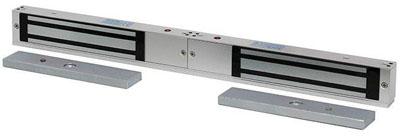 st-el250mld — электромагнитный замок для двустворчатых дверей