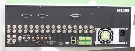 DVR DS 9016HFI XT back