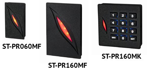 Считыватели ST-PR060MF, ST-PR160MK и ST-PR160MF