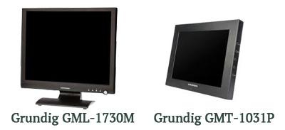 Мониторы Grundig GML-1730M и GMT-1031P