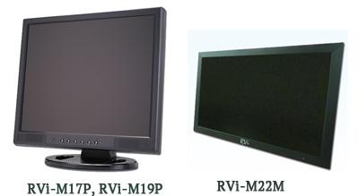 Мониторы CCTV - RVi-M17P, RVi-M19P и RViM22M