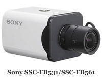 Видеокамеры Sony SSC-FB531 и SSC-FB561