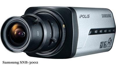 Сетевая видеокамера Samsung SNB-3002