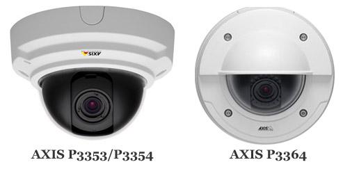 Видеокамеры AXIS серии P33