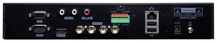видеорегистратор MRD-H0004C - задняя панель