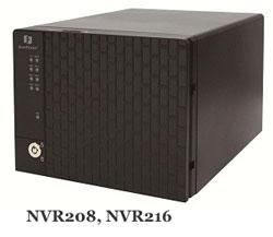 дизайн видеорегистраторов NVR208 и NVR216