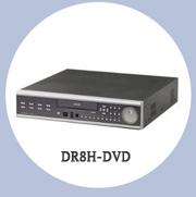 8-канальный видеорегистратор DR8H-DVD